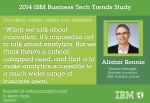 (On making analytic insights more accessible) Alistair Rennie – General Manager, Business Analytics, IBM