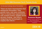 (On key findings about Pacesetters) Susanne Hupfer – Study Leader, IBM Center for Applied Insights