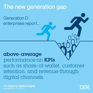 The new generation gap between enterprises