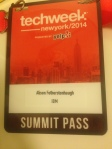 TechWeekNY badge
