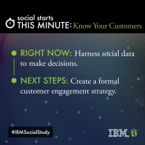 (Customer Engagement) Social Study- https://ibm.biz/SocStudy