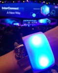 The connected wristband from Glow Motion Technologies – look for it on next year's runways! (Source: Anastasia Medytska)