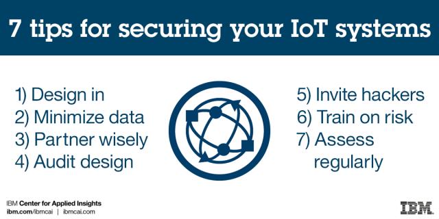 7 tips for securing your IoT systems