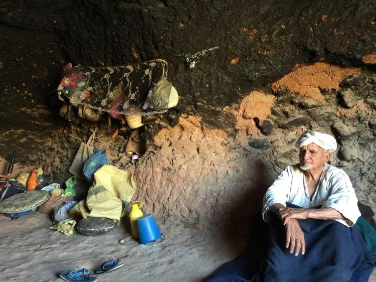 Nomadic Berber in Morocco (Photo credit: Krista Sande-Kerback)
