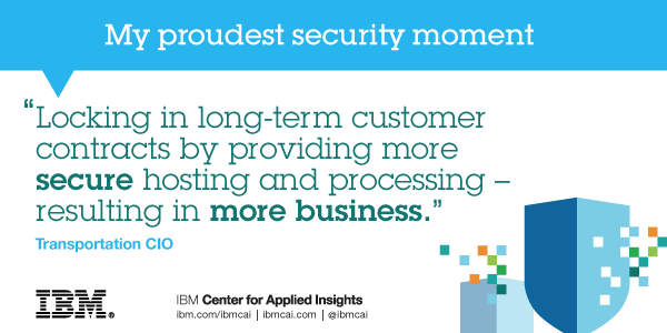 """Locking in long-term customer contracts by providing more secure hosting and processing - results in more business."""