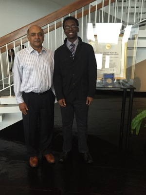 Chigozie and Arvind 2 (with the National Medal of Technology and Innovation)