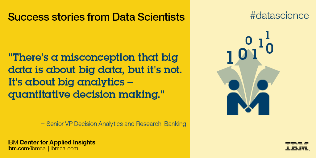 Ibm Quote Adorable Data Science Quote 48 VF IBM Center For Applied Insights