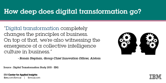 How deep does digital transformation go?